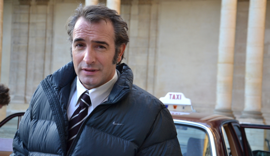 Class 39 cadillac tournages pub for Contacter jean dujardin